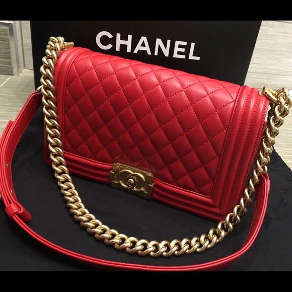 Túi xách Chanel Boy Lambskin