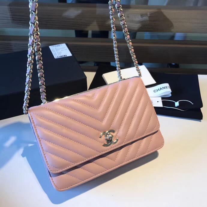 Túi xách Chanel Woc On Chain - Hàng siêu cấp Full box