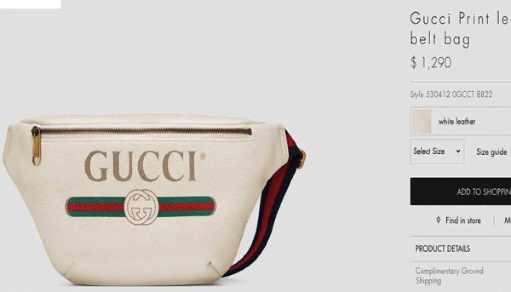 ace547964a30 Gucci Belt Bag - Túi Đeo Bao Tử I ĐT 093.888.6603 I Hàng Cấp Vip